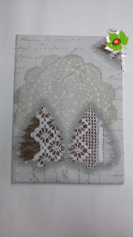 Tovaglia natalizia da 12 posti 140x240 cm. Col.Panna.B104