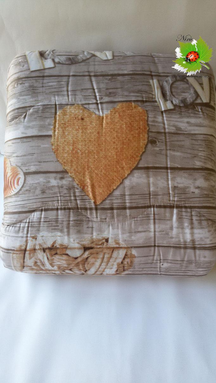 Trapunta piumone invernale Shabby Love con stampa digitale 4D Laura Blasi matrimoniale. A960