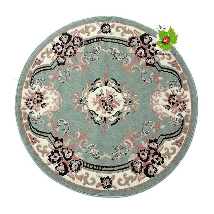 Tappeto classico Chinese Garden 120 cm. Col.Verde. Art.N227