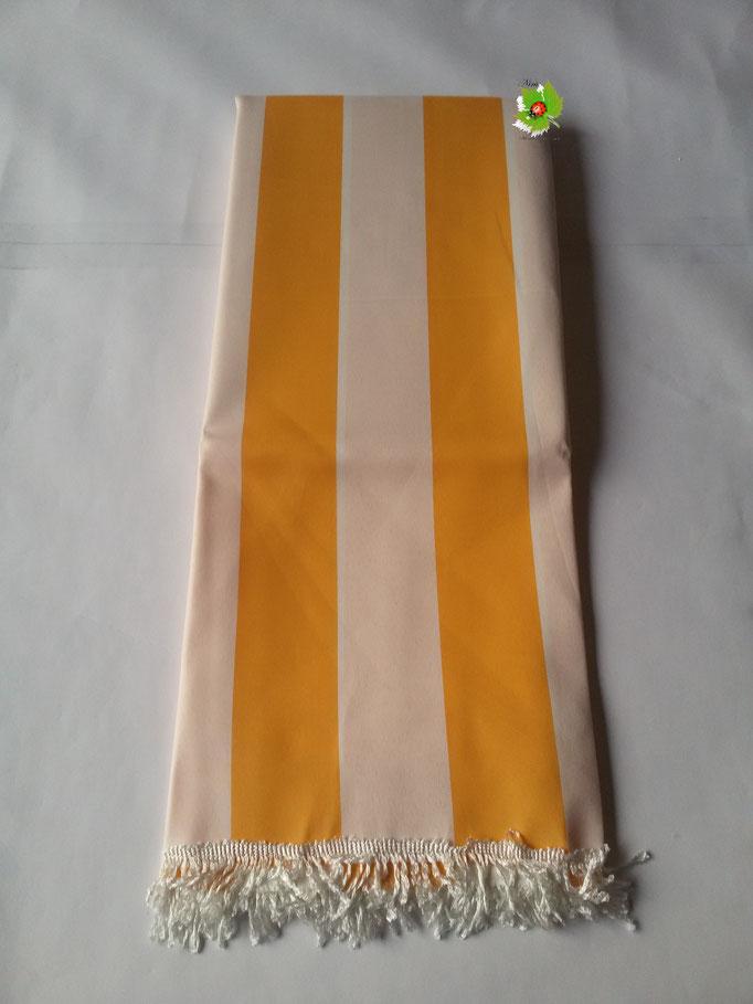 Tenda da sole con anelli 290x290cm. Col.Giallo. Art.B512