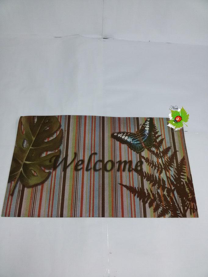 Tappeto zerbino per casa 45x75 cm. Foto (3). Art.N25