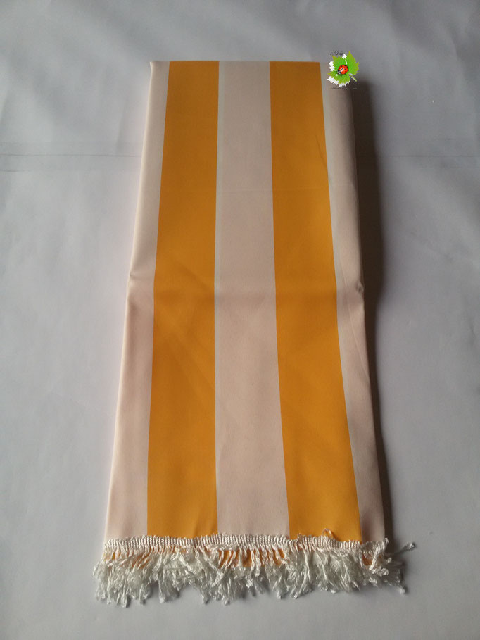 Tenda da sole con anelli 150x250 cm. Col.Giallo. Art.A135