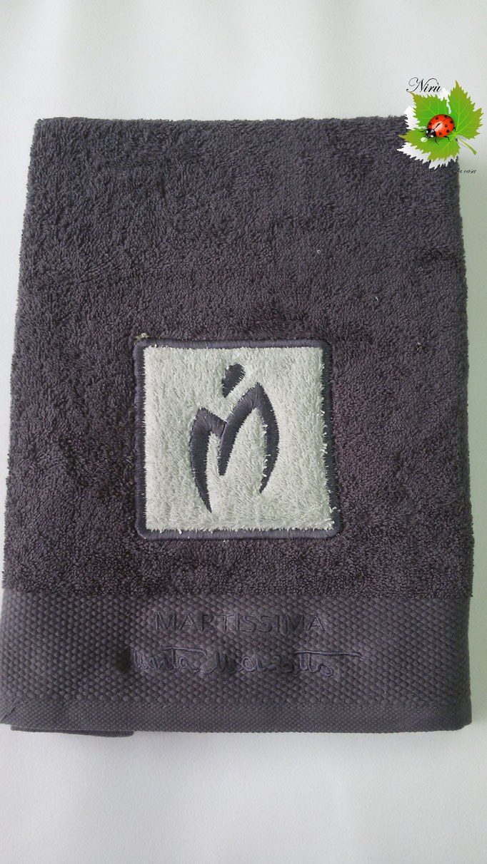 Asciugamano Marta Marzotto 1+1 asciugamano viso e ospite . Col.Ferro.B187