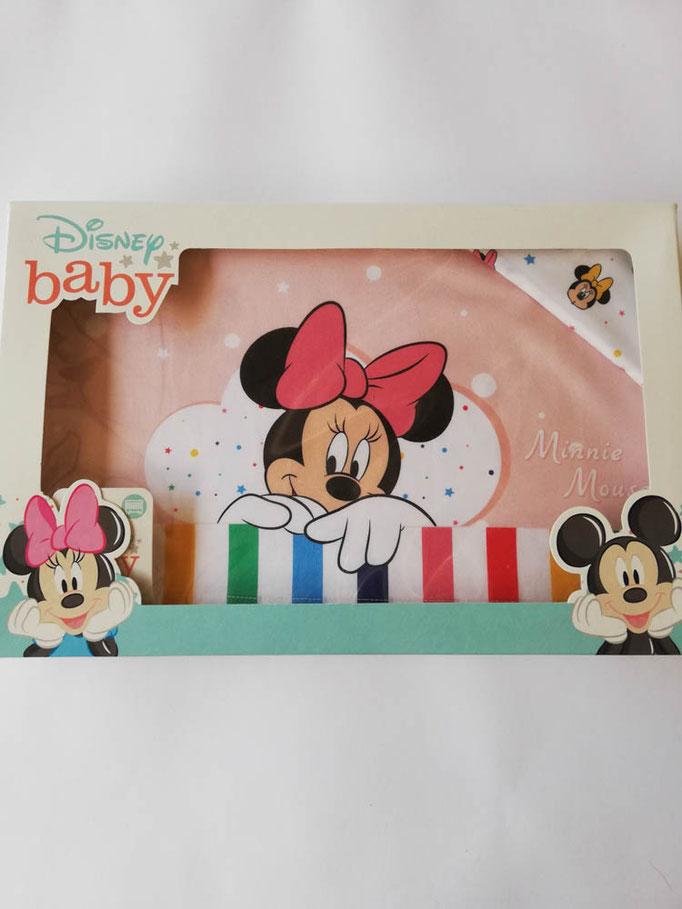 Completo lenzuola Disney baby lettino (culla) 100% cotone. C057