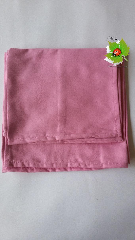 Set 1+1 asciugamano + ospite in microfibra. Col.Rosa.A812