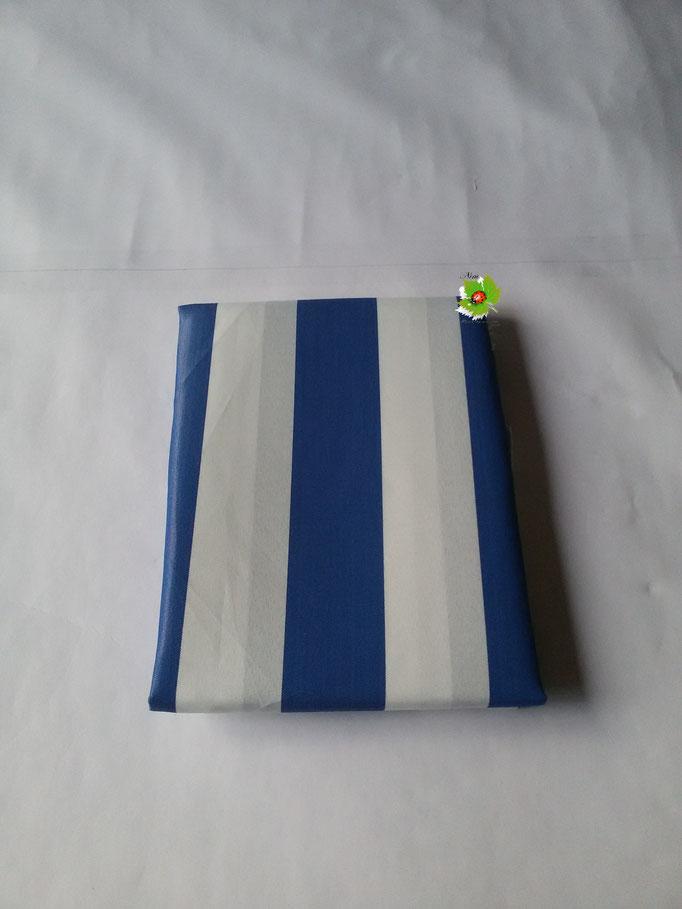 Tenda da sole con anelli 150x250 cm. Col.Blu. Art.A135