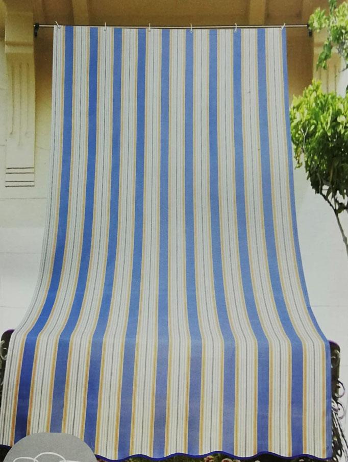 Tenda da sole con anelli 200X290 cm per esterno. Art.Stromboli. B411