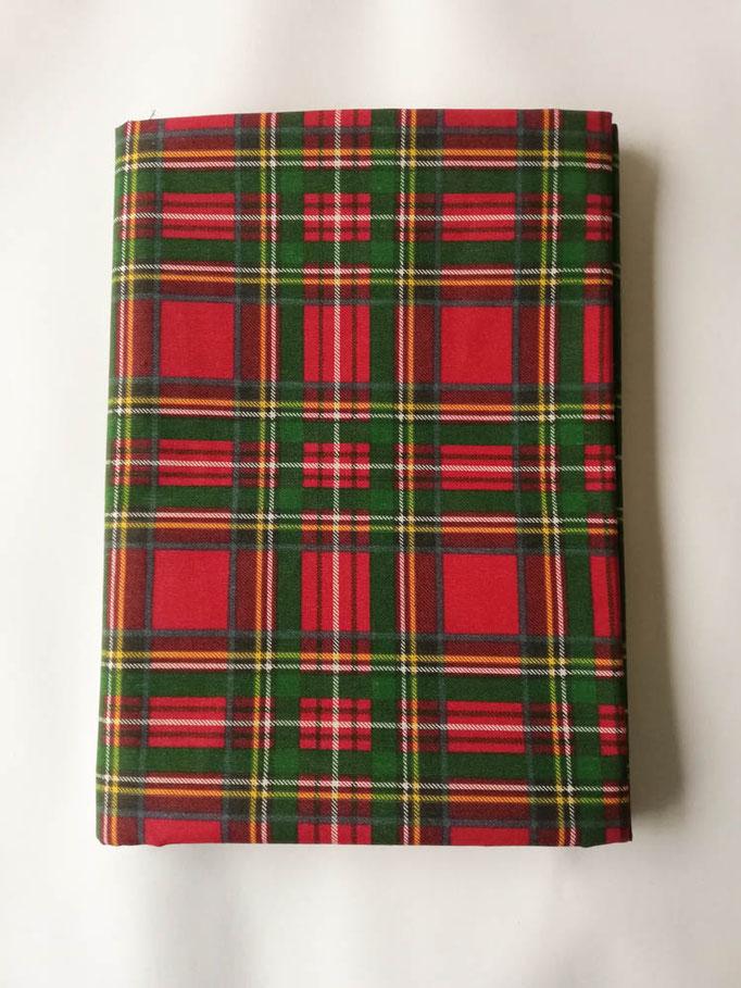 Tovaglia natalizia da 6 posti 140x180 cm. Art. Montlblanc. Col.Rosso. B708