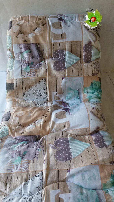 Trapunta piumone invernale Collage con stampa digitale 4D Laura Blasi matrimoniale. A963