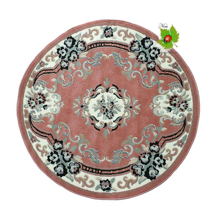 Tappeto classico Chinese Garden 160 cm. Col.Rosa. Art.N234