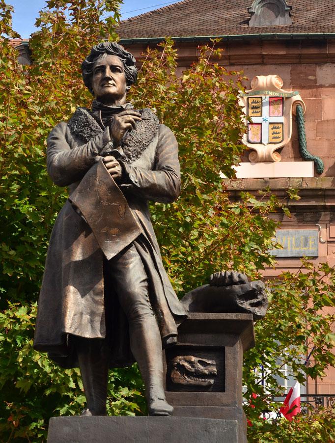 Georges Cuvier, anatomiste et paléontologue (1769-1832)