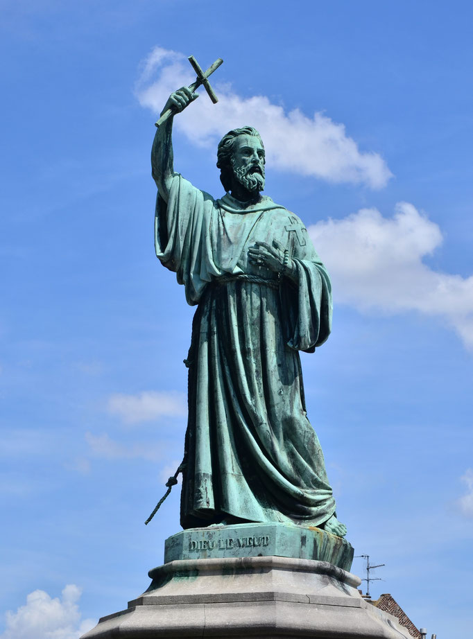 Pierre l'Ermite, chef religieux prêchant la croisade (1053-1115)