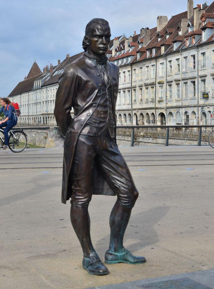 Claude de Jouffroy d'Abbans, ingénieur, construisit le premier bateau à roues à aubes (1751-1832)