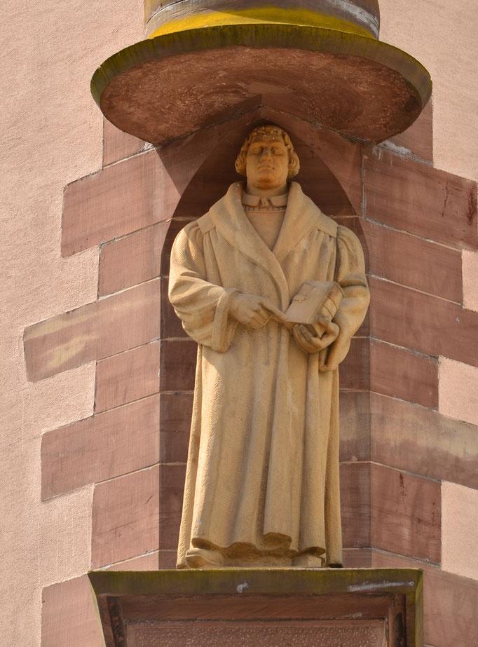 Martin Luther, théologien,  initiateur de la Réforme protestante (1483-1546)