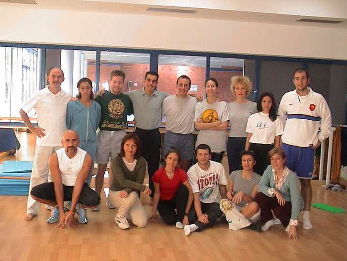 SGA-ZAGROS MADRID 2002 - GIMNASIO ZAGROS
