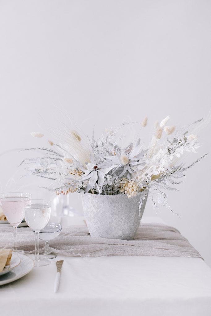 Keramikpot Weiß/matt - Image: www.anjaschneemann.com