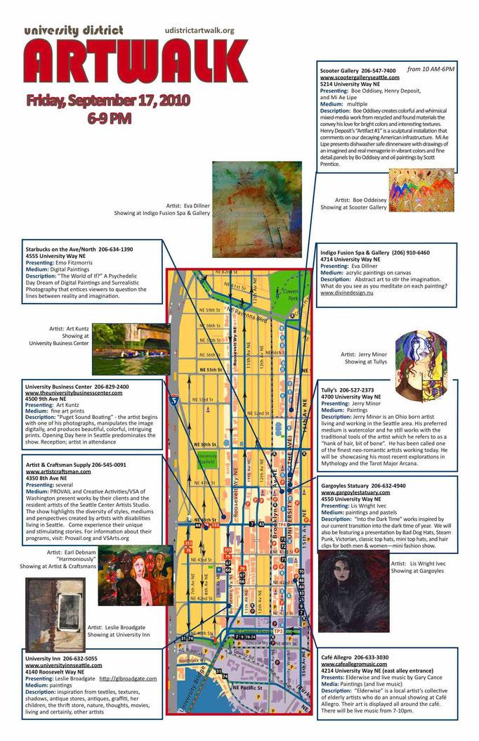 University District Art Walk, Seattle, WA, USA. 2010