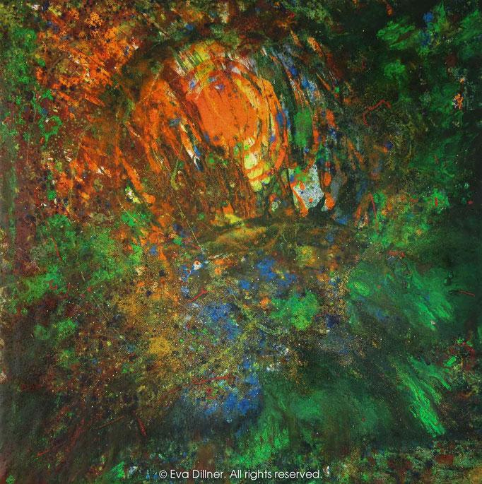 Epiphany C385 130x130cm ©2015 Eva Dillner
