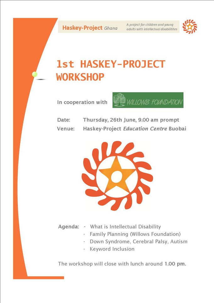 erster Haskey-Projekt Workshop