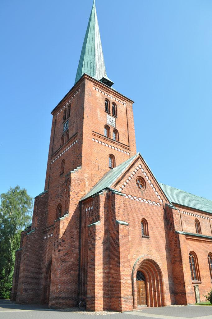 Die Marienkirche in der Stadt Bad Segeberg