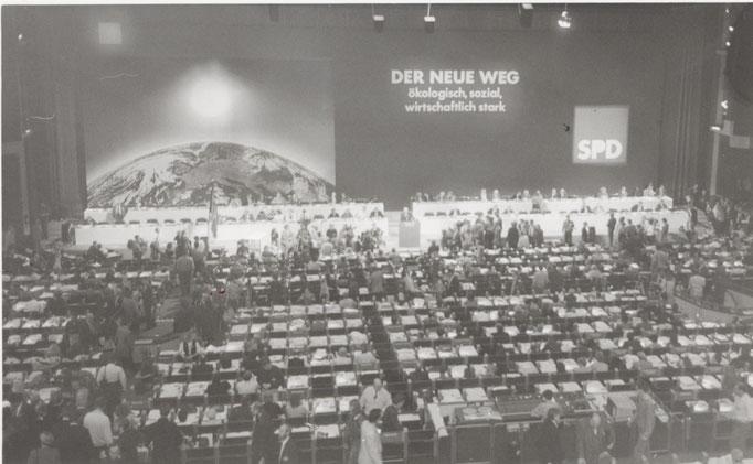 Mein erster SPD-Bundesparteitag 1983. Ich werde ihn nie vergessen!