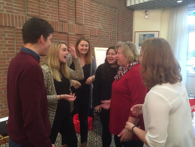 Intensive Diskussionen mit jungen Menschen sind Cordula Schultz wichtig