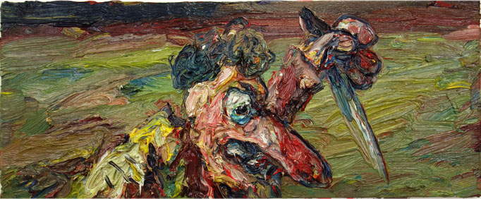 Do the Caravaggio  Öl auf Leinwand  31 x 75 cm