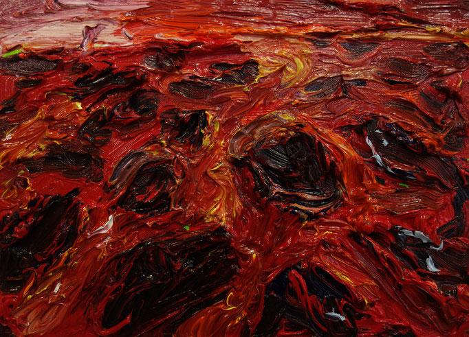 Landschaft  Öl auf Leinwand  40 x 50 cm
