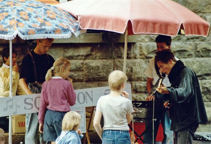 Squadron 5 - Aller Anfang ist schwer - 1. Auftritt: Strassenfest Arndtstrasse, 27.08.1988