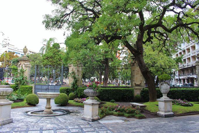 Vista desde Palacio Taranco (Museo de Artes Decorativas), Montevideo, Uruguay