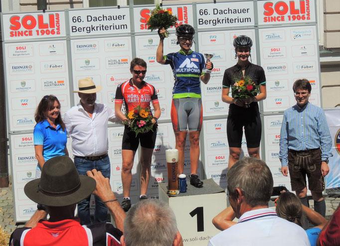 1. Platz Dachauer Bergkriterium 15.08.2017