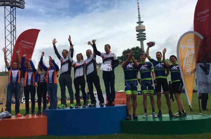 3. Platz 24h MTB race München 17.09.2017