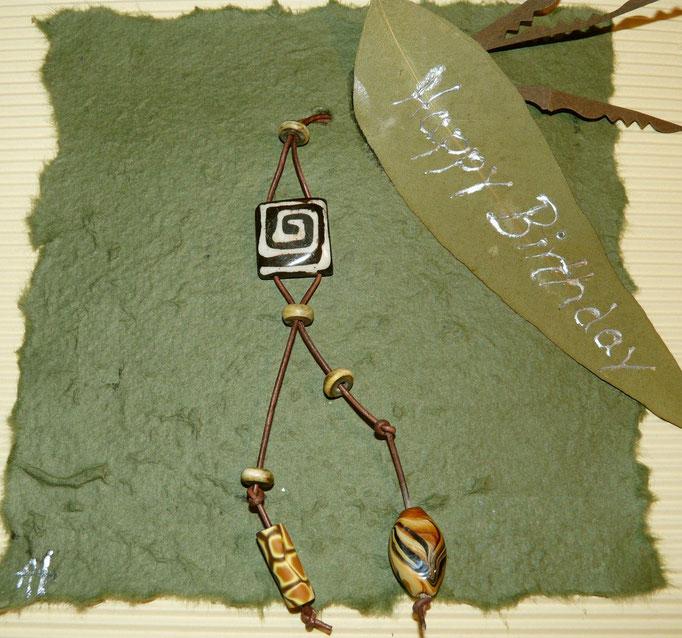 native colour necklace
