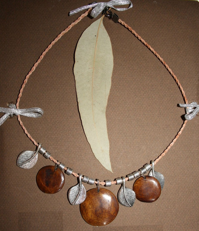 Wood & Metal necklace