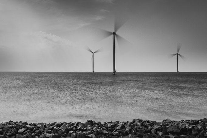 Windmolens Noord Oost Polder