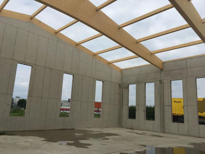 Statik Zubau Betriebsgebäude 700m²