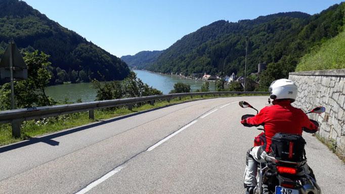 Tour 1  Schöne blaue Donau