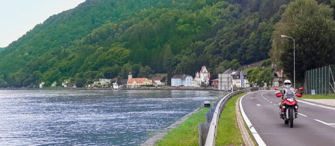 Tour 1  Auf dem Weg in die Wachau in Sarmingstein