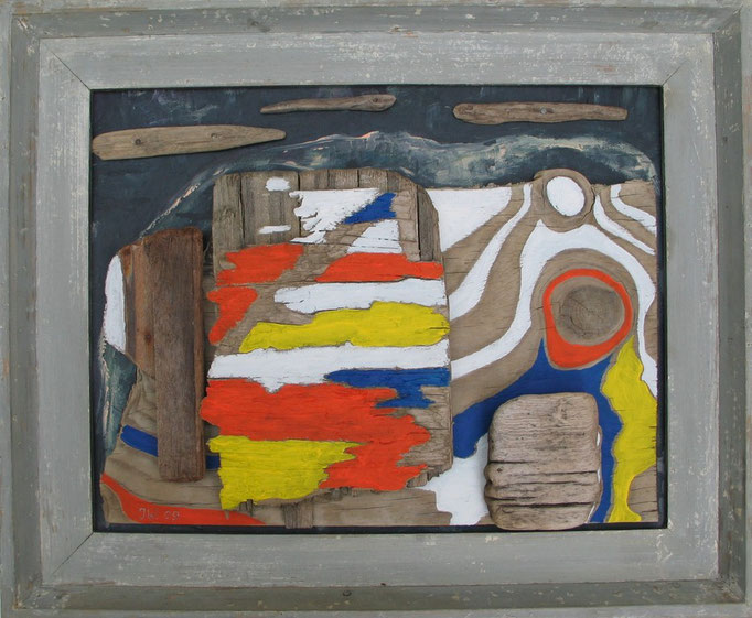 Bodensee-Collage, 2009, 48x37cm