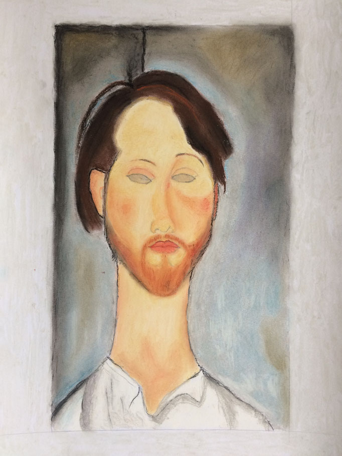 Alexis copie Modigliani