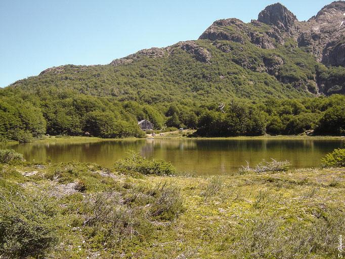 Lagune beim Refugio La Natación
