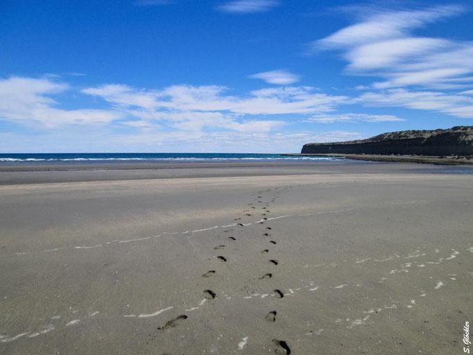 kilometerlanger, einsamer Strand
