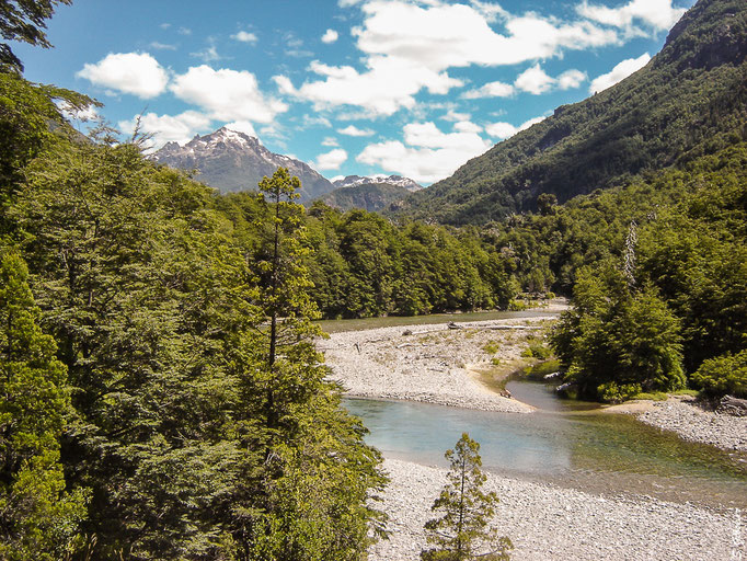 Wanderung zum Hielo Azul Gletscher