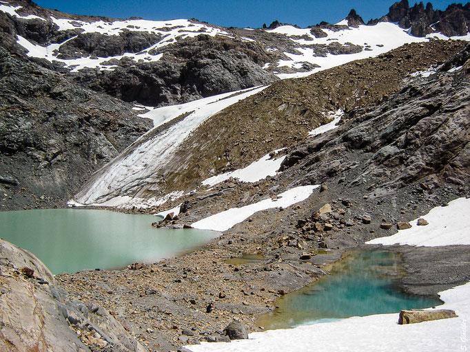 Die Gletscher in Patagonien gehören zu denen, die am schnellsten zurückgehen