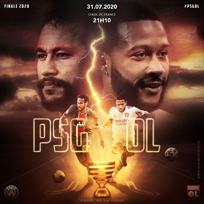 Finale Coupe de la Ligue - PSG vs OL
