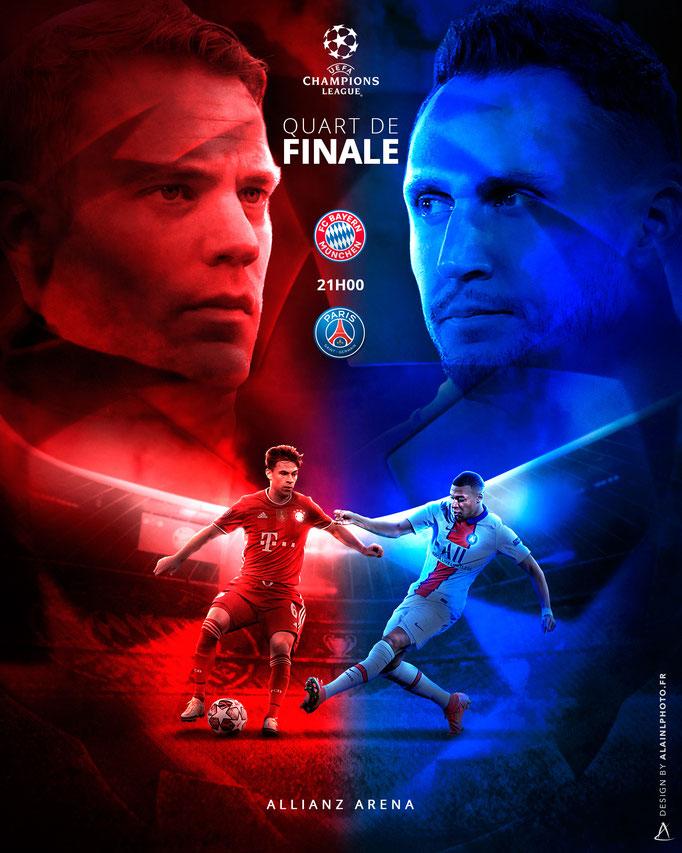 FC Bayern Munich vs Paris Saint-Germain
