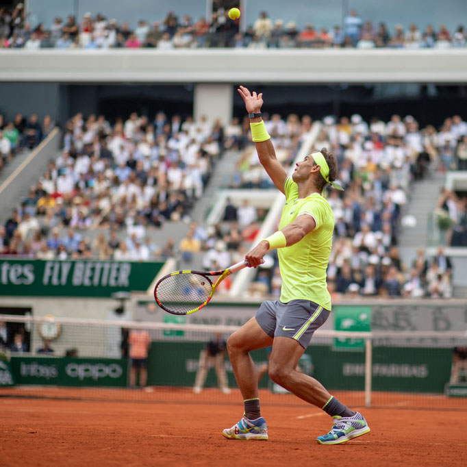 Rafael Nadal - Avant retouche