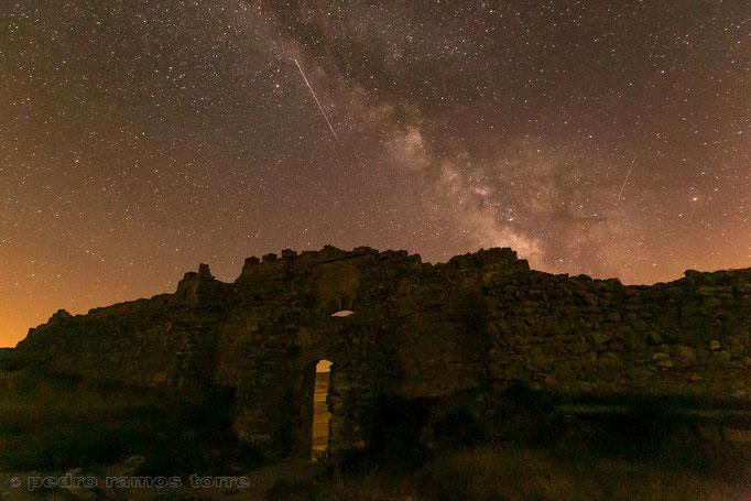 Vía Láctea desde El Castillo de Gormaz (Soria)