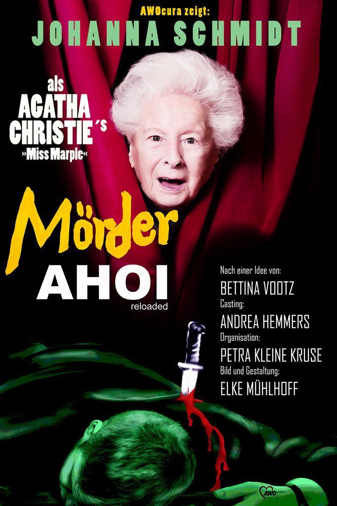 Oldies but Goldies Poster Image Bild Plakat Murder Ahoi