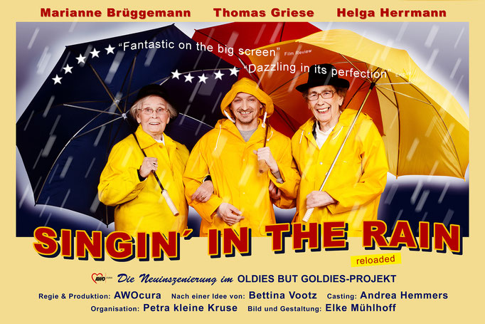 Oldies but Goldies Poster Image Bild Plakat Singing in the rain